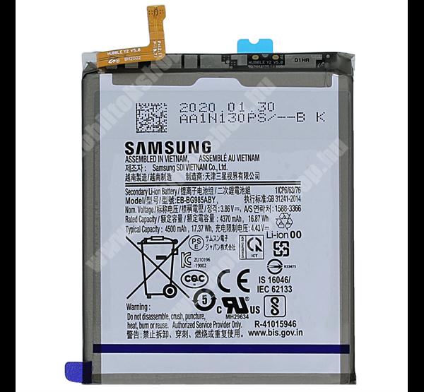 Akku 4500 mAh LI-ION (belső akku, beépítése szakértelmet igényel) - SAMSUNG Galaxy S20 Plus (SM-G985F) / SAMSUNG Galaxy S20 Plus 5G (SM-G986) - EB-BG985ABY / GH82-22133A - GYÁRI