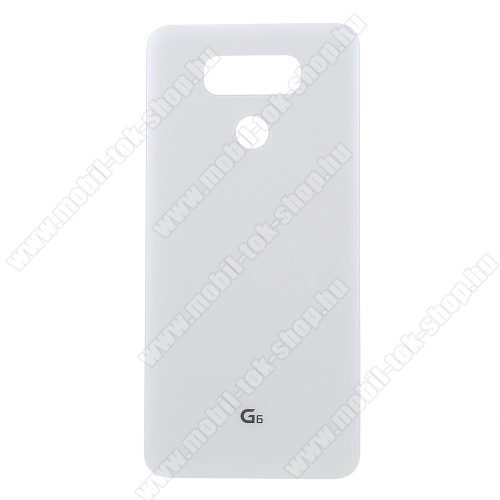 Akkufedél - FEHÉR - LG G6 - GYÁRI