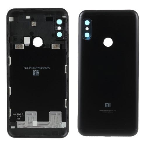 Akkufedél - FEKETE - beépítése szakértelmet igényel! - Xiaomi Redmi 6 Pro / Xiaomi Mi A2 Lite - GYÁRI
