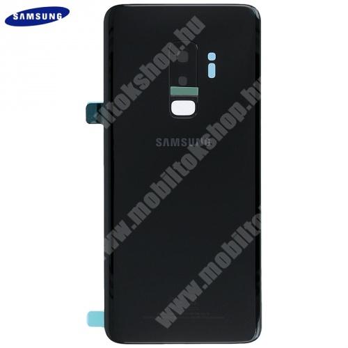 Akkufedél FEKETE - GH82-15652A - Samsung Galaxy S9 Plus (SM-G965) - GYÁRI