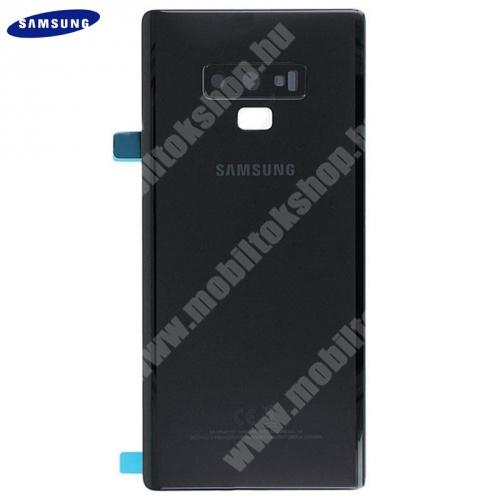 Akkufedél FEKETE - GH82-16920A - Samsung Galaxy Note 9 (SM-N960F) - GYÁRI