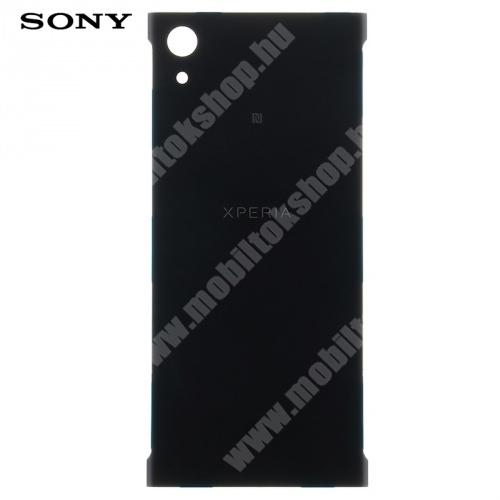 Akkufedél - FEKETE - Sony Xperia XA1 - 78PA9200020 - GYÁRI