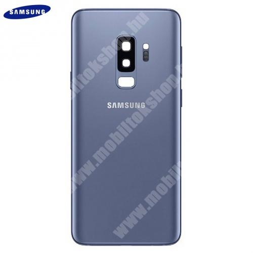 Akkufedél KÉK - GH82-15652D - Samsung Galaxy S9 Plus (SM-G965) - GYÁRI