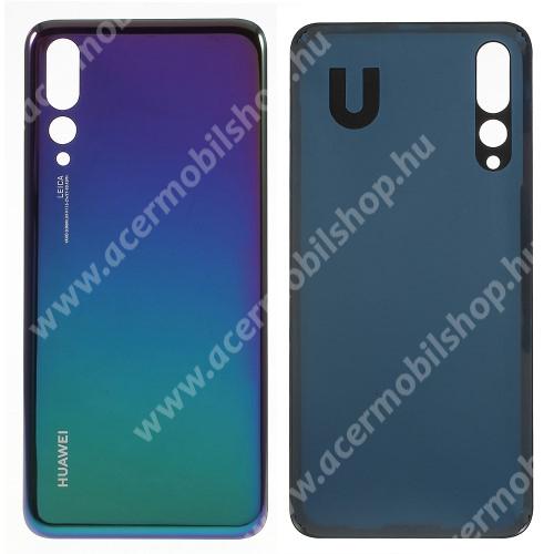 Akkufedél - KÉK - ragasztóval - Huawei P20 Pro (2018)