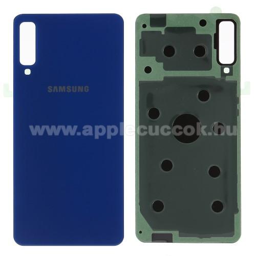Akkufed�l - K�K - ragaszt�val - SAMSUNG SM-A750F Galaxy A7 (2018)