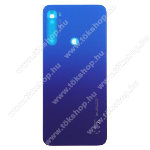 Akkufedél - KÉK - Xiaomi Redmi Note 8T - GYÁRI