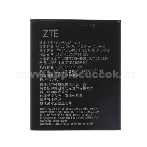 Akkumulátor - 2200mAh Li-Polymer - VODAFONE Smart N8 / VODAFONE Smart E8 - Li3822T43p4h736040 kompatibilis