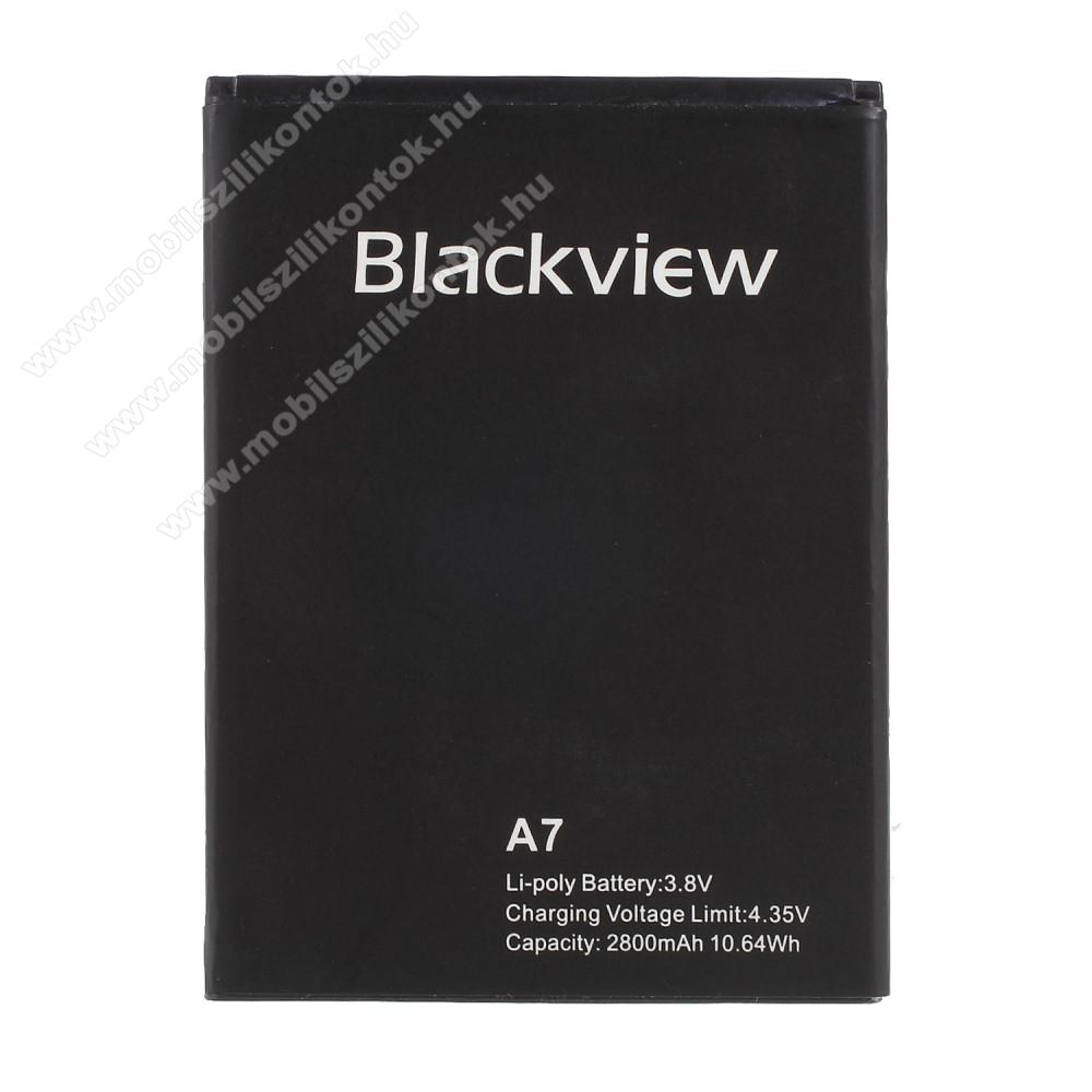 Akkumulátor - 2800 mAh Li-Ion - Blackview A7 / Blackview A7 Pro