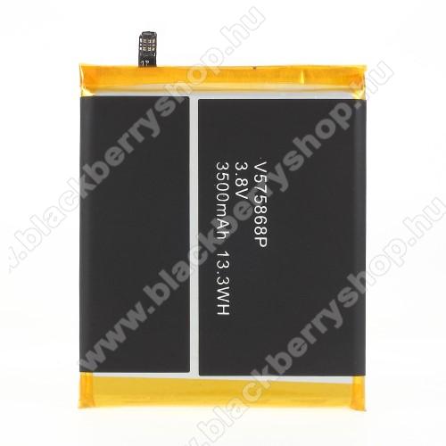 Akkumulátor - 3500 mAh Li-Polymer - belső akku, beépítése szakértelmet igényel! - Blackview BV7000 / Blackview BV7000 Pro