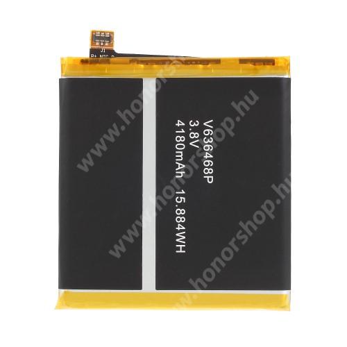 Akkumulátor - 4180 mAh Li-Polymer - belső akku, beépítése szakértelmet igényel! - Blackview BV8000 / Blackview BV8000 Pro