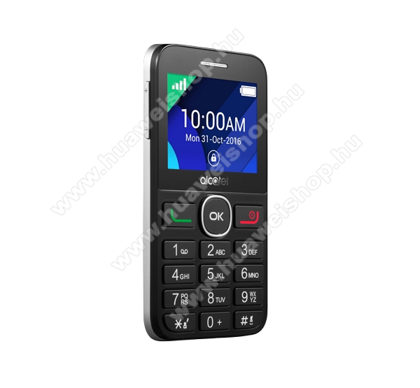 Alcatel OT-2008G, Black Metal Silver