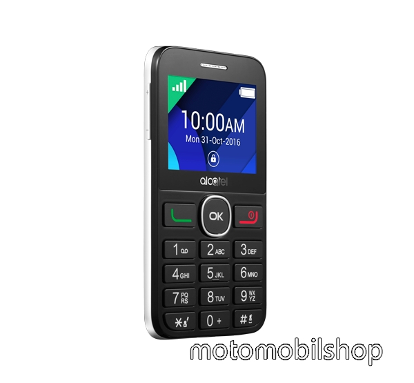 Alcatel OT-2008G, Black Pure White