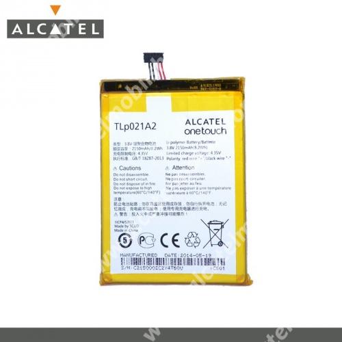 ALCATEL OT-6050 Idol 2 S akku 2150 mAh LI-ION - CAC2150002C2 - GYÁRI - Csomagolás nélküli