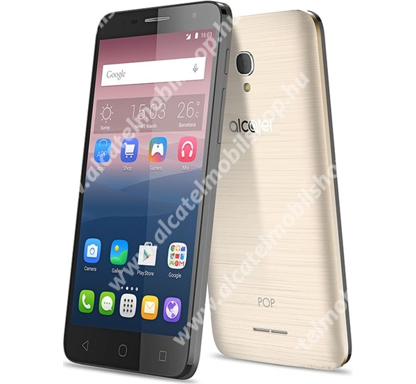 ALCATEL Pop 4+ (5056) Alcatel Pop 4 Plus, 16GB, Gold, (OT-5056D)