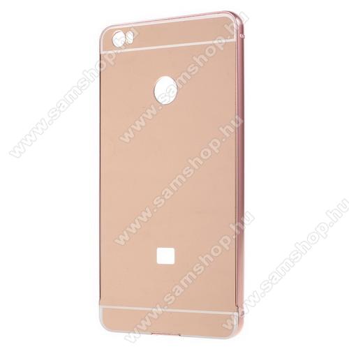 Alumínium védő tok / hátlap - ROSE GOLD - Xiaomi Mi Max
