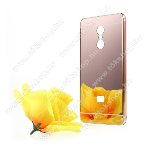 Alumínium védő tok / hátlap - ROSE GOLD - Xiaomi Redmi Note 4X (Global version)
