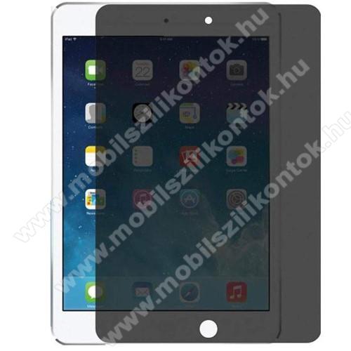 Anti-Peep előlap védő karcálló edzett üveg - 0.33mm, 9H, A teljes képernyőt védi, betekintés elleni védelemmel - APPLE iPad 10.2 (7th Generation) (2019)