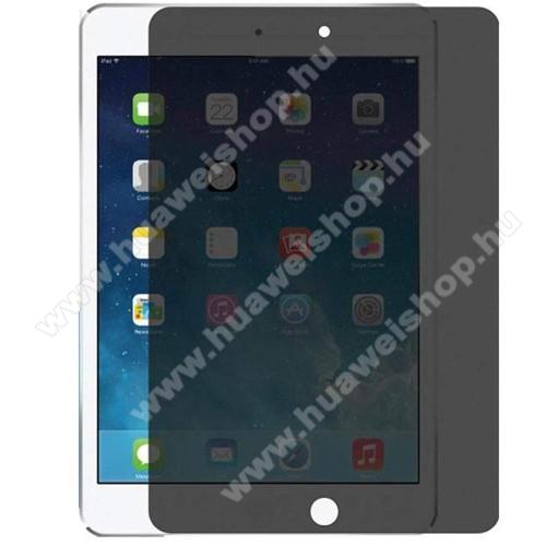 Anti-Peep előlap védő karcálló edzett üveg - 0.33mm, 9H, A teljes képernyőt védi, betekintés elleni védelemmel - APPLE iPad 10.2 (7th Generation) (2019) / iPad 10.2 (8th Generation) (2020)