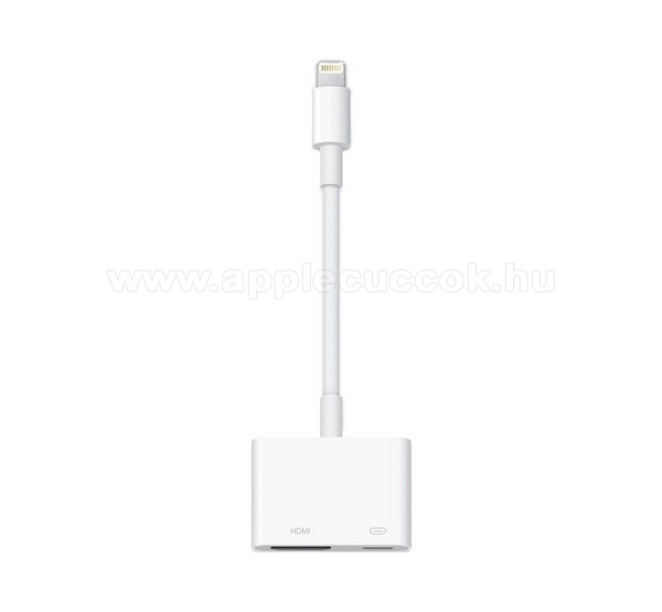 APPLE iPad 9.7 (5th generation) (2017) APPLE adapter k�bel - TV / HDMI adapter k�bel, HDMI-DV, lightning - FEH�R - MD826ZM/A - GY�RI