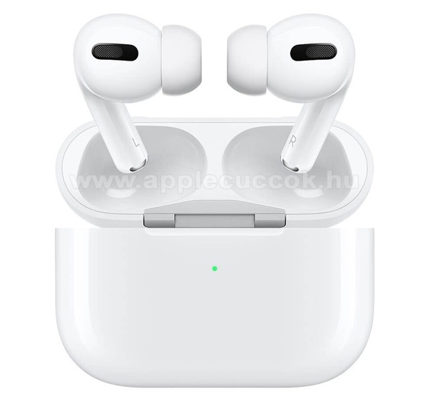 APPLE iPad 9.7 (5th generation) (2017) APPLE AirPods Pro SZTEREO BLUETOOTH HEADSET - mikrofon, AirPods Pro + vezet�k n�lk�li t�lt?tok - FEH�R - MWP22ZM/A - GY�RI