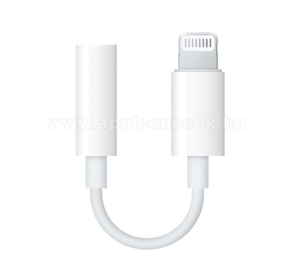 APPLE iPad 9.7 (5th generation) (2017) APPLE audio adapter - Lightning / 3,5mm Jack - FEH�R - MMX62ZM/A - GY�RI