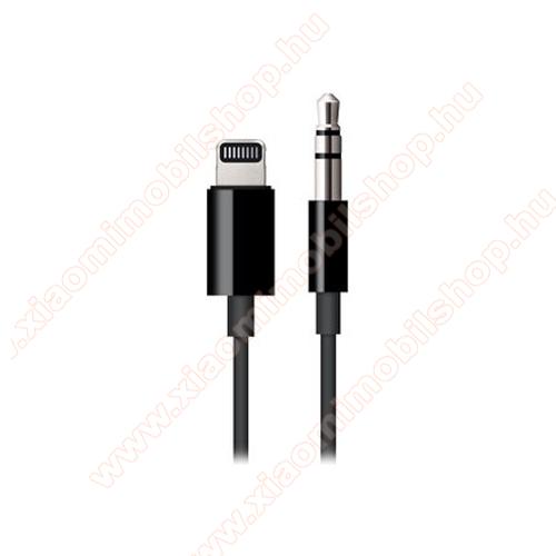 APPLE audio adapter - Lightning / 3,5mm Jack - FEKETE - MR2C2ZM/A - GYÁRI