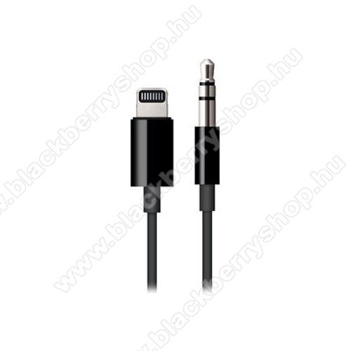 APPLE audio adapter - Lightning / 3,5mm Jack - FEKETE - MR2C2ZM/A - GYÁRI