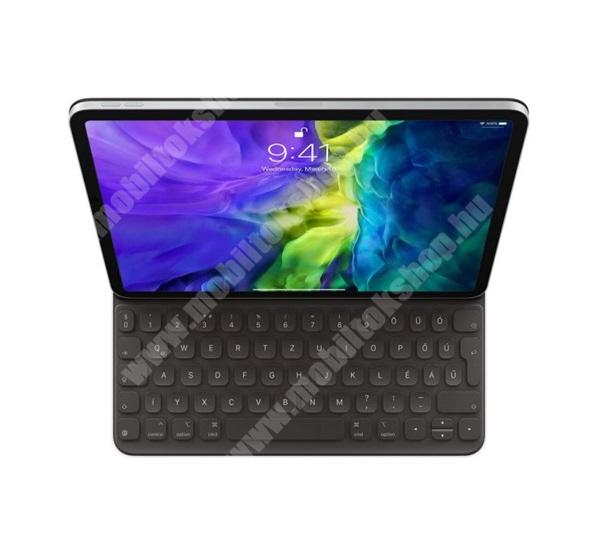 APPLE BLUETOOTH billentyűzet (QWERTY, magyar nyelvű, MU8G2MG/A utódja) FEKETE - MXNK2MG/A - APPLE iPad Pro 11 (2020) - GYÁRI