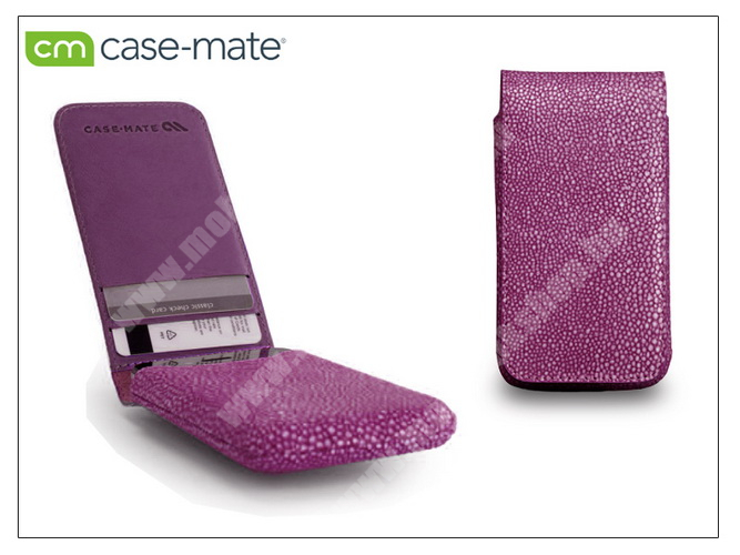 APPLE iPhone 4/4S tok - Case-Mate Stingray Foldover Pouch - pink - CM019371 - GYÁRI