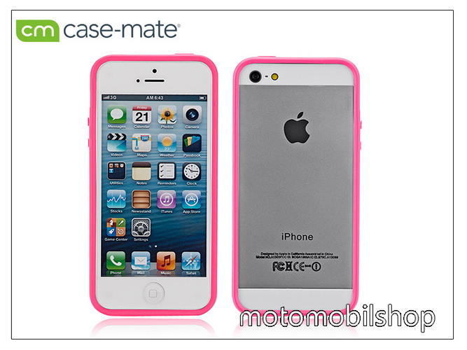 APPLE iPhone 5/5S védőkeret - Case-Mate Hula - pink - CM025933 - GYÁRI