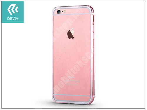 Apple iPhone 6/6S hátlap - Devia Mighty Bumper - rose gold
