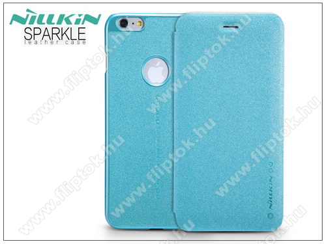 APPLE iPhone 6Apple iPhone 6/6S oldalra nyíló flipes tok - Nillkin Sparkle - kék