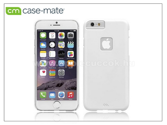 APPLE iPhone 6APPLE iPhone 6 hátlap - Case-Mate Barely There - white - CM031477 - GYÁRI