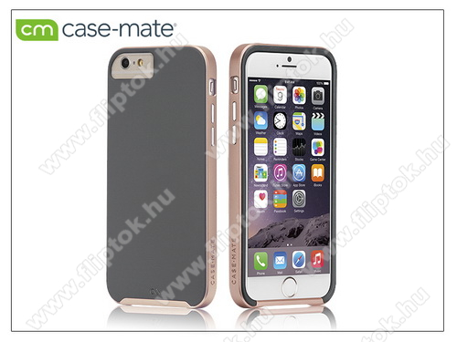 Apple iPhone 6 Plus/6S Plus hátlap - Case-Mate Slim Tough - grey/rose gold