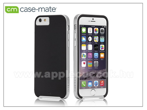 Apple iPhone 6 Plus/6S Plus hátlap - Case-Mate Slim Tough - black/silver