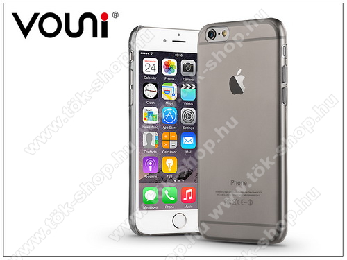 Apple iPhone 6 Plus/6S Plus hátlap - Vouni Soft - crystal black