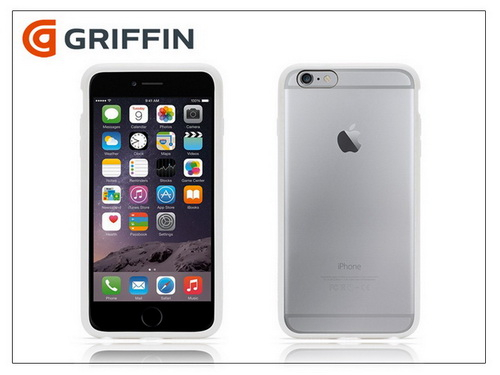Apple iPhone 6 Plus hátlap - Griffin Reveal - white/clear