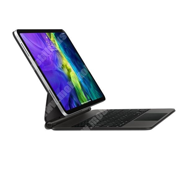 APPLE MAGIC KEYBOARD Notesz / mappa tok - FEKETE - Type-C aljzat, mágneses, asztali tartó funkció, QWERTY, MAGYAR KIOSZTÁSÚ - APPLE iPad Pro 11 (2020) - MXQT2MG/A - GYÁRI