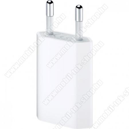 APPLE MD813ZM/A hálózati adapter USB aljzattal (5W) -  FEHÉR - GYÁRI