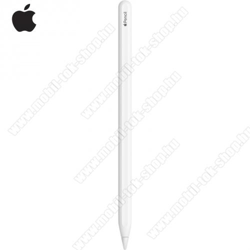 APPLE Pencil (érintőképernyő ceruza, aktív, lightning 8 pin, 2. generációs) FEHÉR - MU8F2ZM/A - GYÁRI