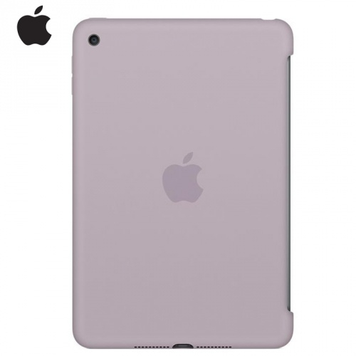 APPLE szilikon védő tok / hátlap - LILA - MLD62ZM/A - APPLE iPad Mini 4 / APPLE iPad mini (2019) - GYÁRI