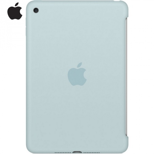 APPLE szilikon védő tok / hátlap - TÜRKIZ - MLD72ZM/A - APPLE iPad Mini 4 / APPLE iPad mini (2019) - GYÁRI