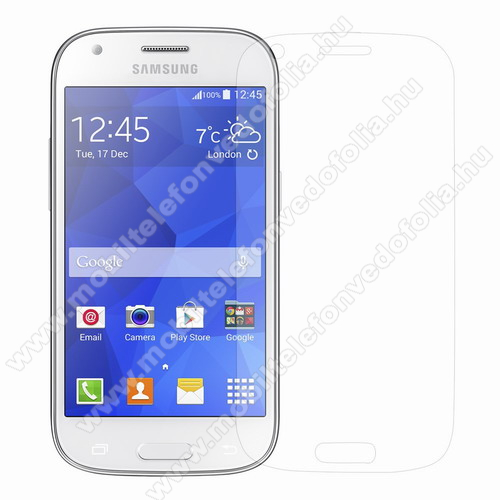 ARMOR előlap védő karcálló edzett üveg, 9H, A képernyő sík részét védi - SAMSUNG SM-G357FZ Galaxy Ace 4 LTE / SAMSUNG SM-G357FZ Galaxy Ace Style LTE