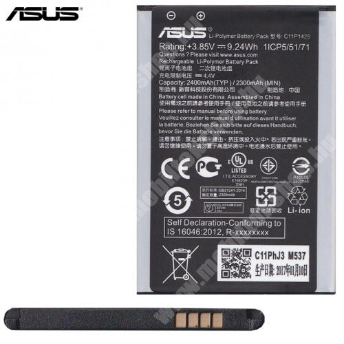 ASUS Zenfone 2 Laser (ZE500KL) akkumulátor - 2400mAh Li-Polymer - C11P1428 - GYÁRI