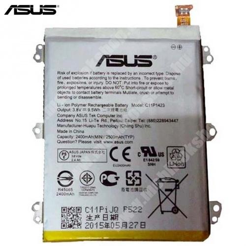ASUS Zenfone 2 (ZE500CL) akkumulátor - 2500mAh Li-Polymer - C11P1423 - GYÁRI