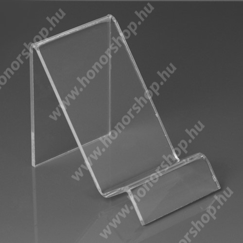HUAWEI Honor 9 Asztali tartó / állvány - ÁTLÁTSZÓ PLEXI