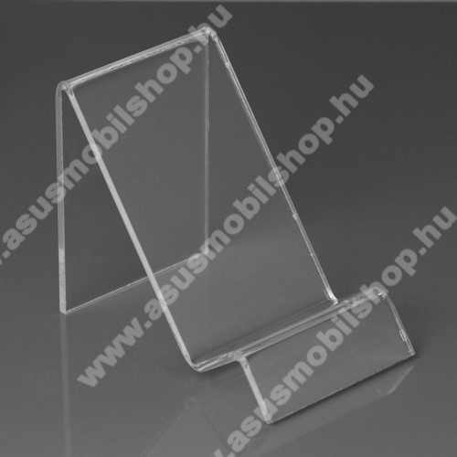 ASUS Zenfone 3s Max (ZC521TL)Asztali tartó / állvány - ÁTLÁTSZÓ PLEXI