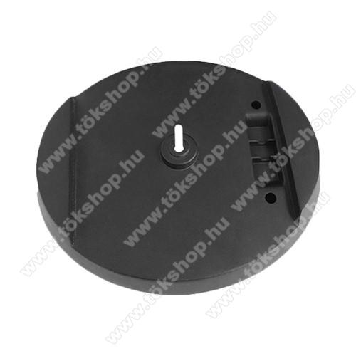 Asztali tartó / függőleges állvány SONY PS5-höz - hőelvezetés, csúszásgátló, 148 x 25mm - FEKETE