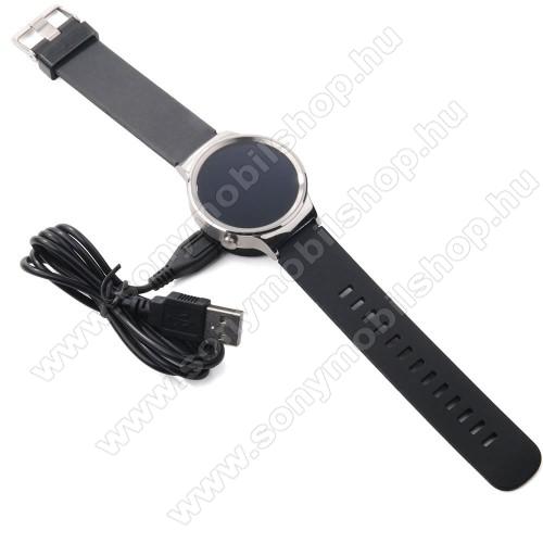 Asztali töltő állvány - HUAWEI Watch okosórához - FEKETE