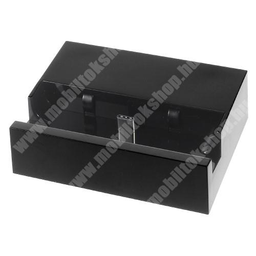 Bluboo S8 Plus Asztali töltő / dokkoló - adatátviteli állvány, USB 3.1 Type C - FEKETE